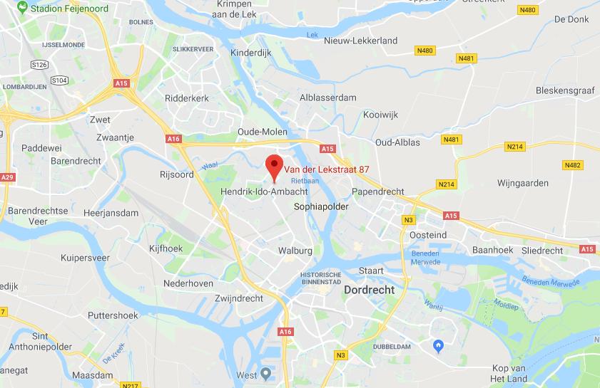Contact met De Blom Vastgoed Google Maps