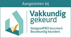 logo van Woningkeur-vakkundig-certificaat